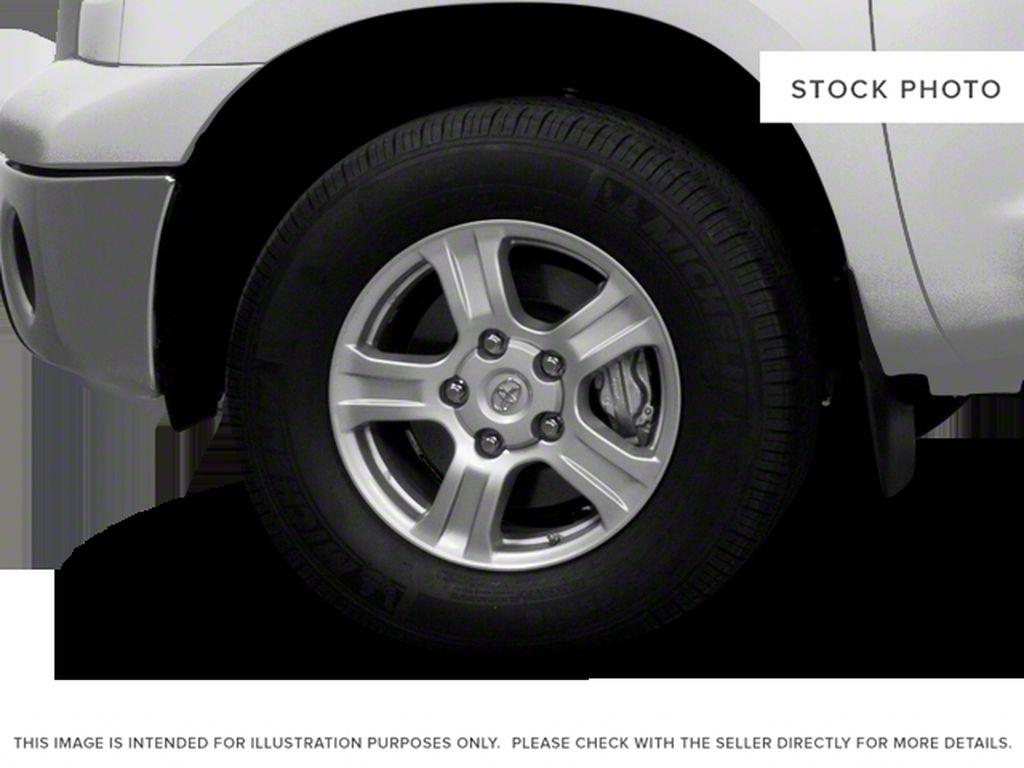 Black[Black] 2012 Toyota Tundra Left Front Rim and Tire Photo in Kelowna BC