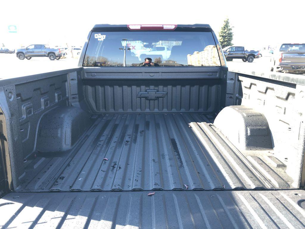 Black[Black] 2021 Chevrolet Silverado 1500 Trunk / Cargo Area Photo in Edmonton AB