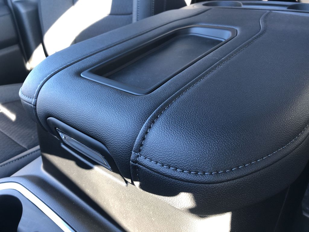 Black[Black] 2021 Chevrolet Silverado 1500 Center Console Photo in Edmonton AB