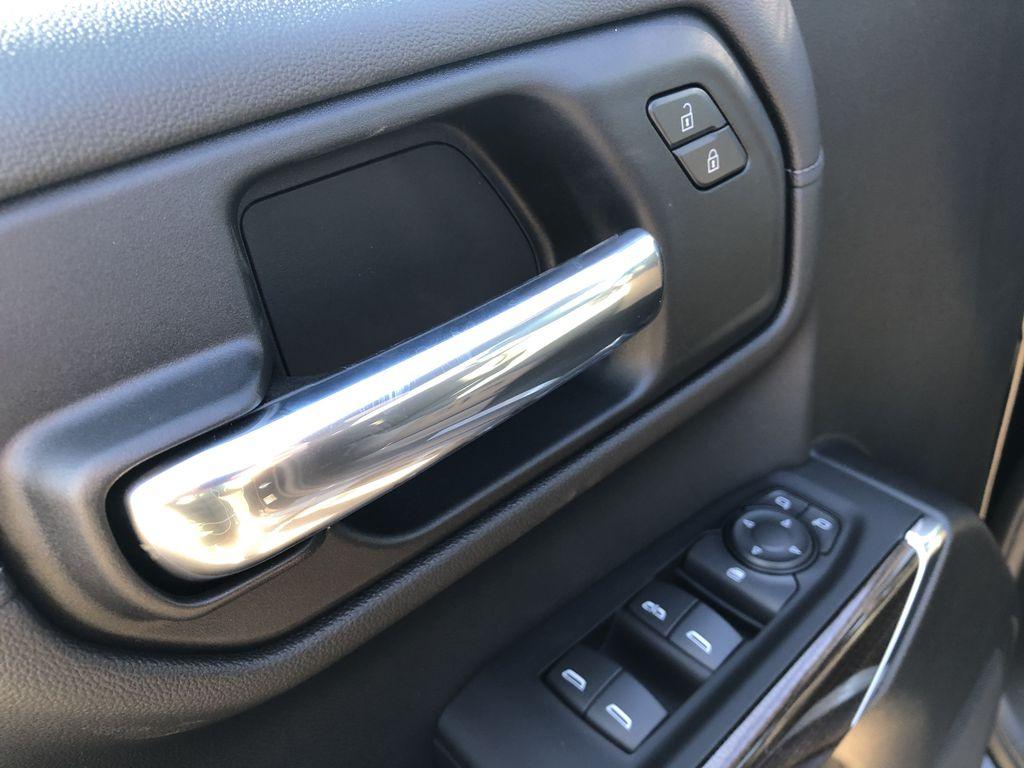 Black[Black] 2021 Chevrolet Silverado 1500  Driver's Side Door Controls Photo in Edmonton AB