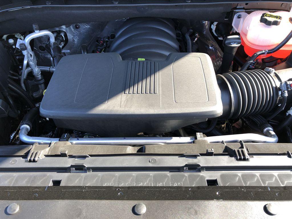 Black[Black] 2021 Chevrolet Silverado 1500 Engine Compartment Photo in Edmonton AB