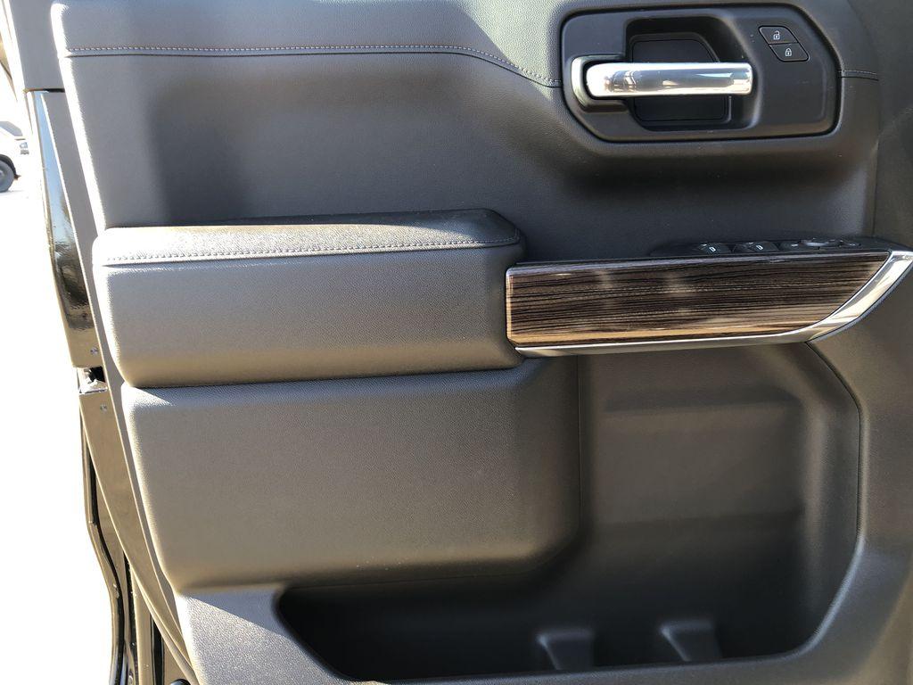 Black[Black] 2021 Chevrolet Silverado 1500 Left Front Interior Door Panel Photo in Edmonton AB