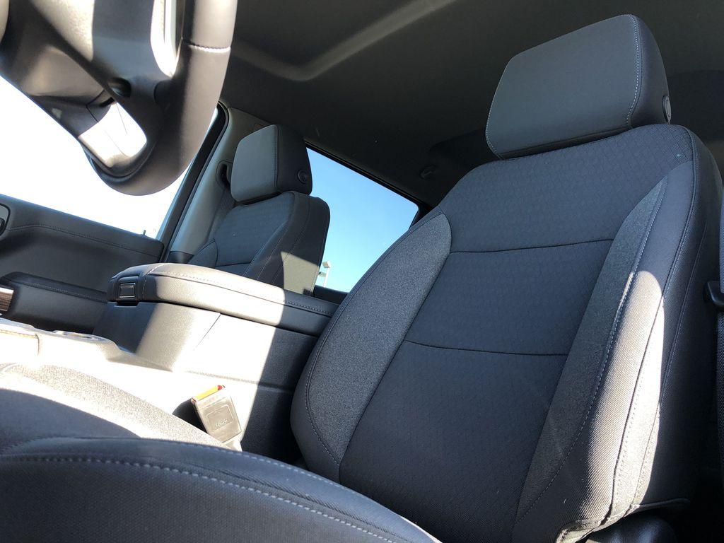 Black[Black] 2021 Chevrolet Silverado 1500 Left Front Interior Photo in Edmonton AB