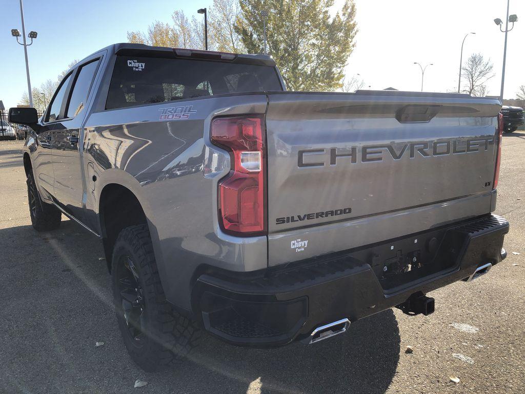 SATIN STEEL GREY METALLIC 2021 Chevrolet Silverado 1500 Left Rear Corner Photo in Edmonton AB
