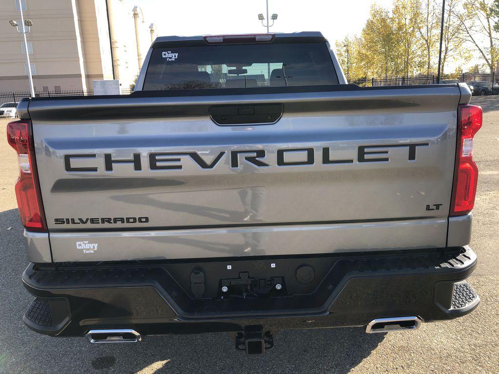 SATIN STEEL GREY METALLIC 2021 Chevrolet Silverado 1500 Rear of Vehicle Photo in Edmonton AB