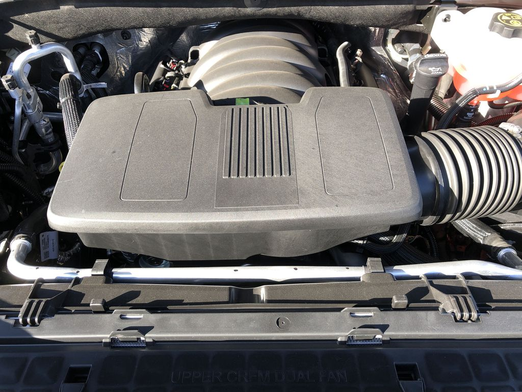 SATIN STEEL GREY METALLIC 2021 Chevrolet Silverado 1500 Engine Compartment Photo in Edmonton AB