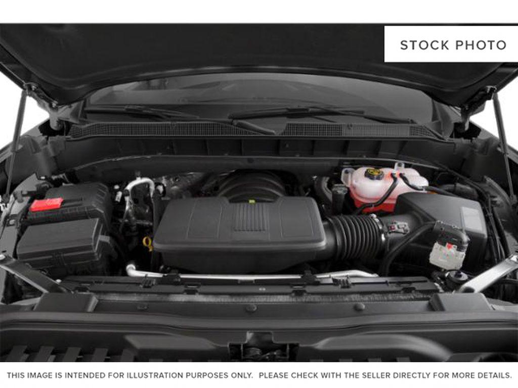 White[Summit White] 2021 Chevrolet Silverado 1500 Engine Compartment Photo in Edmonton AB