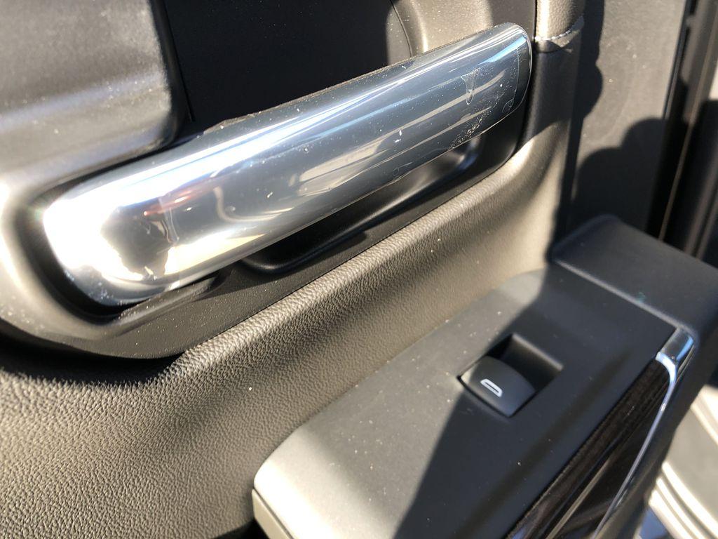 Black[Black] 2021 Chevrolet Silverado 1500 LR Door Panel Ctls Photo in Edmonton AB