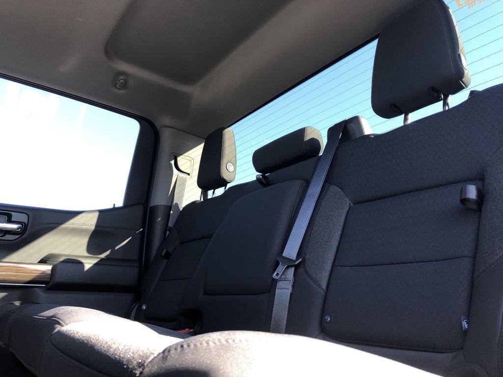 Black[Black] 2021 Chevrolet Silverado 1500 Left Side Rear Seat  Photo in Edmonton AB