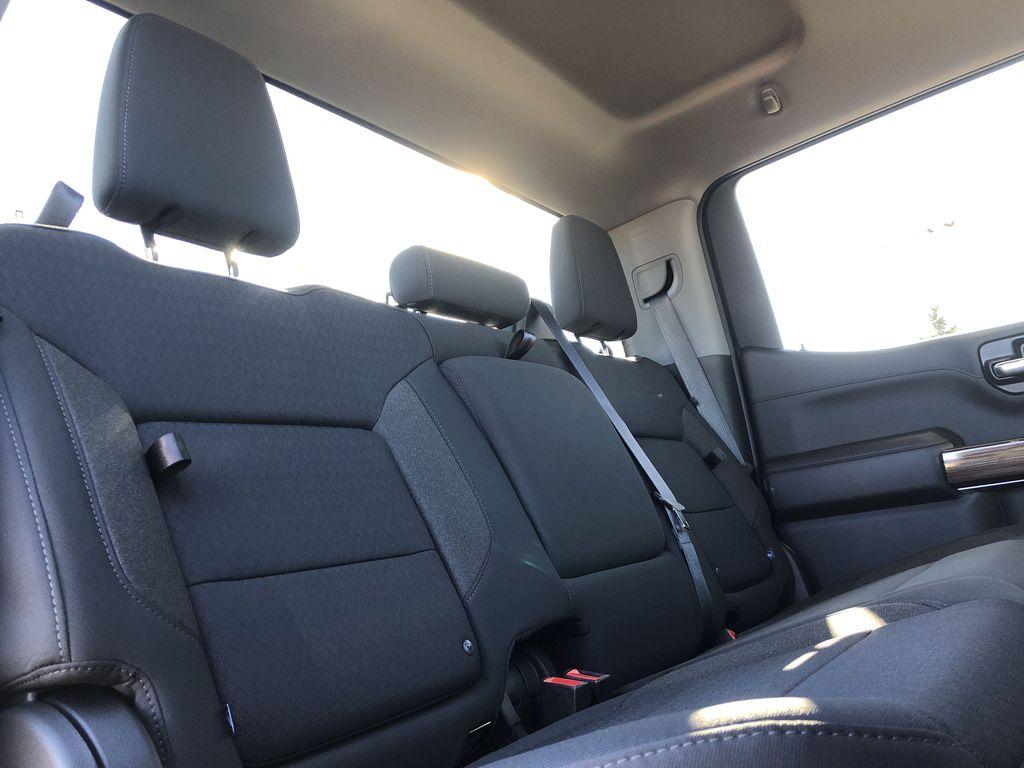 Black[Black] 2021 Chevrolet Silverado 1500 Right Side Rear Seat  Photo in Edmonton AB