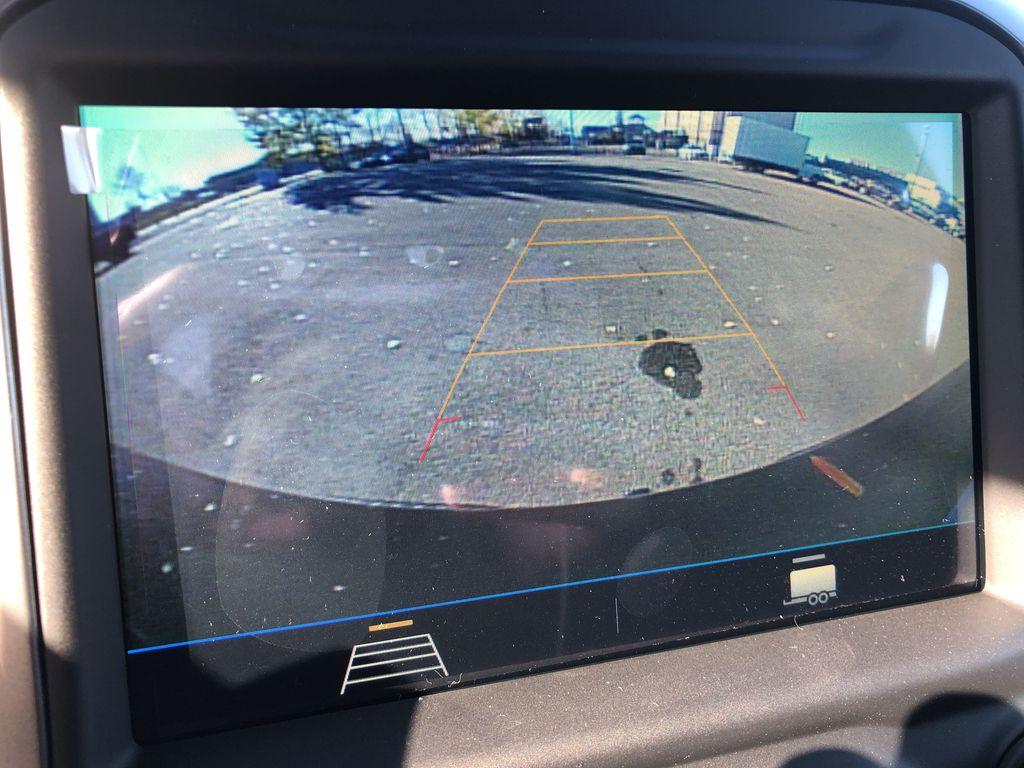 Black[Black] 2021 Chevrolet Silverado 1500 Backup Camera Closeup Photo in Edmonton AB