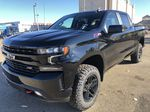Black[Black] 2021 Chevrolet Silverado 1500 Left Front Corner Photo in Edmonton AB