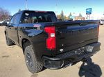 Black[Black] 2021 Chevrolet Silverado 1500 Left Rear Corner Photo in Edmonton AB