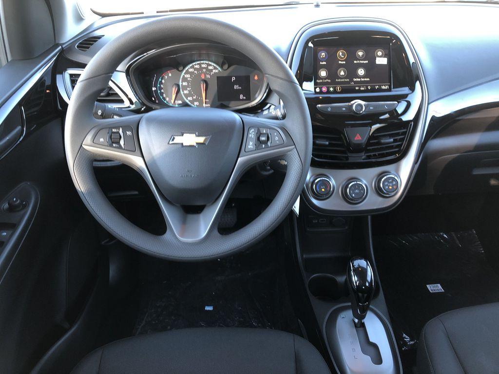Black[Mosaic Black] 2022 Chevrolet Spark Strng Wheel/Dash Photo: Frm Rear in Edmonton AB