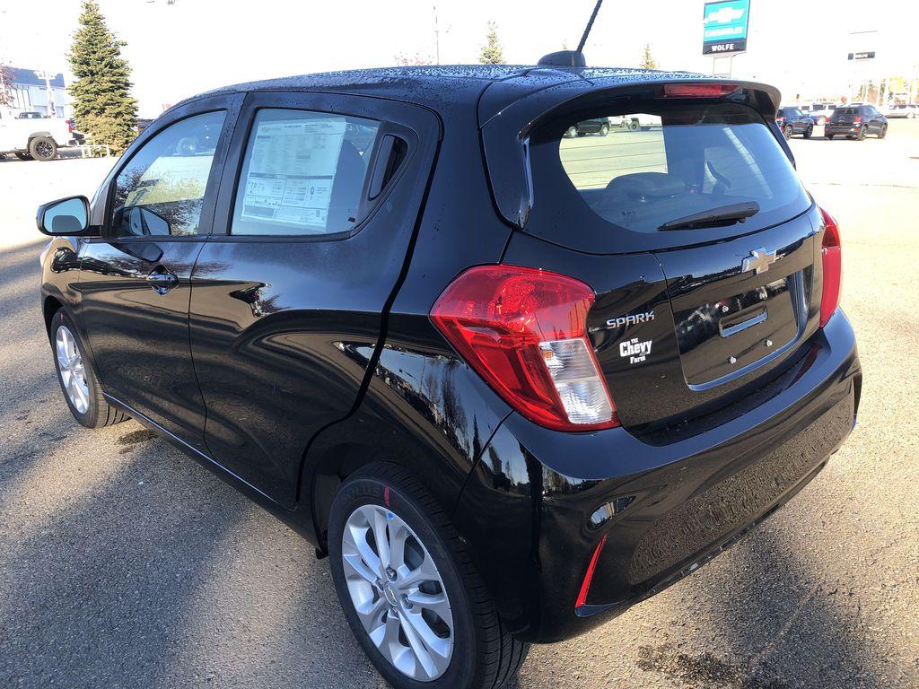 Black[Mosaic Black] 2022 Chevrolet Spark Left Rear Corner Photo in Edmonton AB