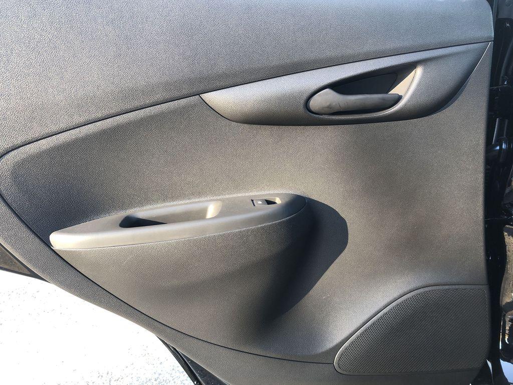 Black[Mosaic Black] 2022 Chevrolet Spark Left Rear Interior Door Panel Photo in Edmonton AB