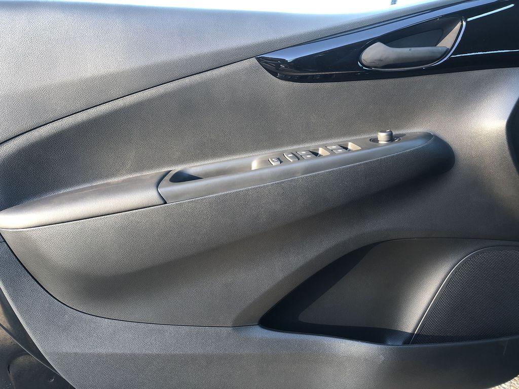 Black[Mosaic Black] 2022 Chevrolet Spark Left Front Interior Door Panel Photo in Edmonton AB