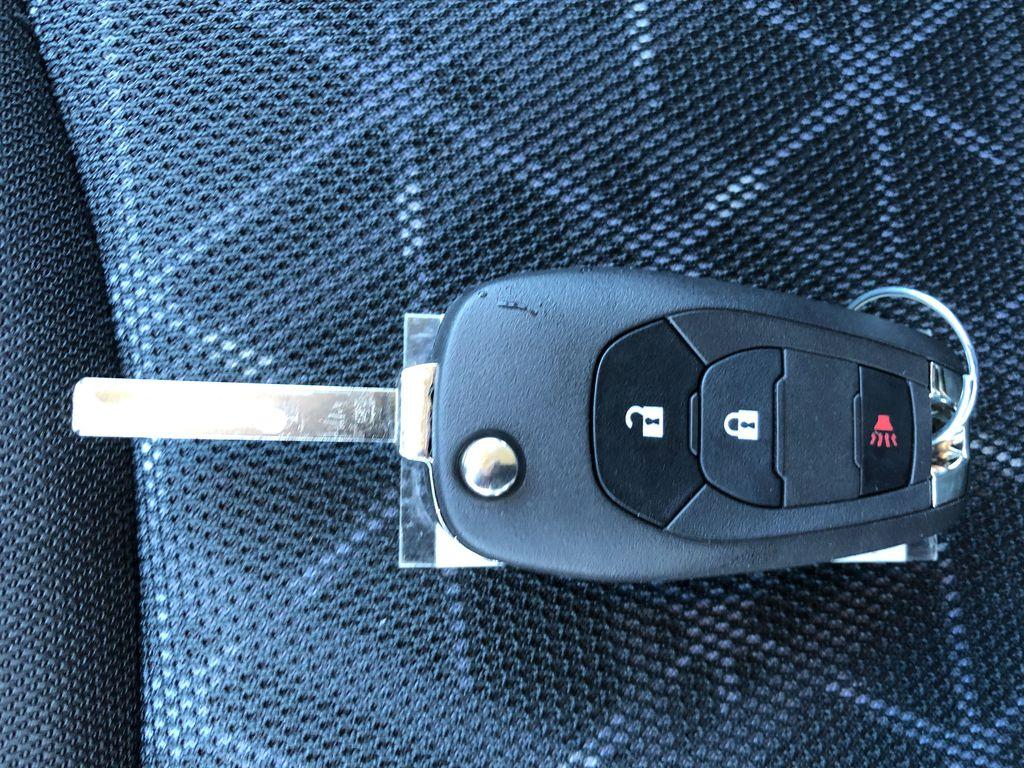 Black[Mosaic Black] 2022 Chevrolet Spark Key and Fob Photo in Edmonton AB
