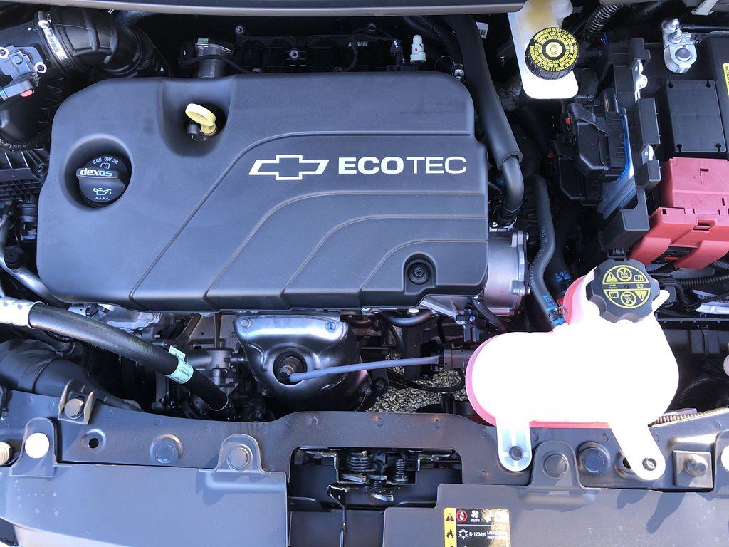 Black[Mosaic Black] 2022 Chevrolet Spark Engine Compartment Photo in Edmonton AB