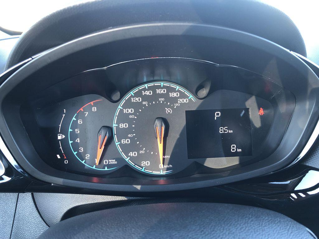 Black[Mosaic Black] 2022 Chevrolet Spark Odometer Photo in Edmonton AB