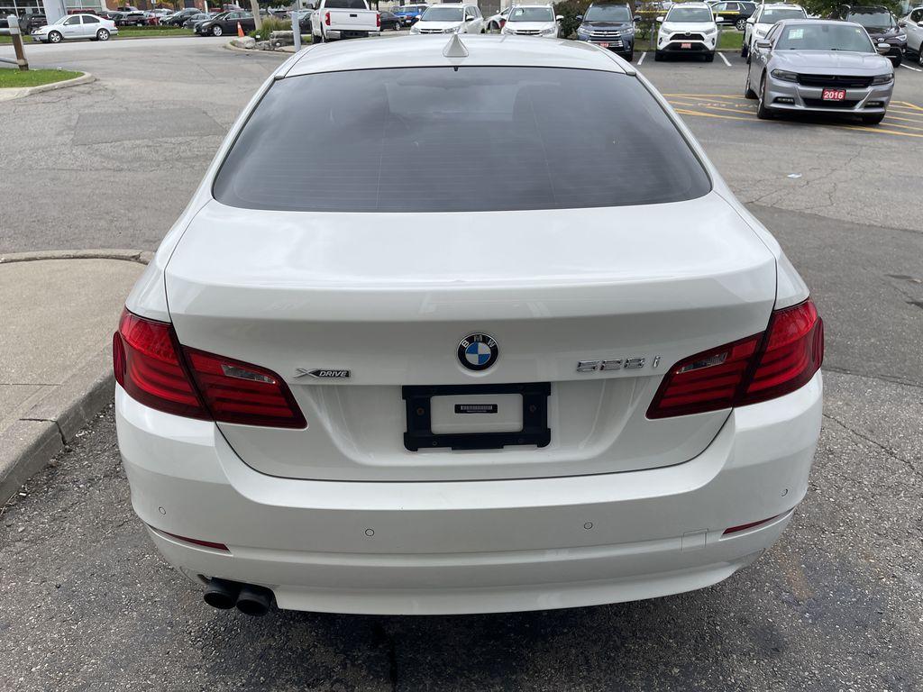 White[Alpine White] 2013 BMW 5 Series Left Front Interior Photo in Brampton ON