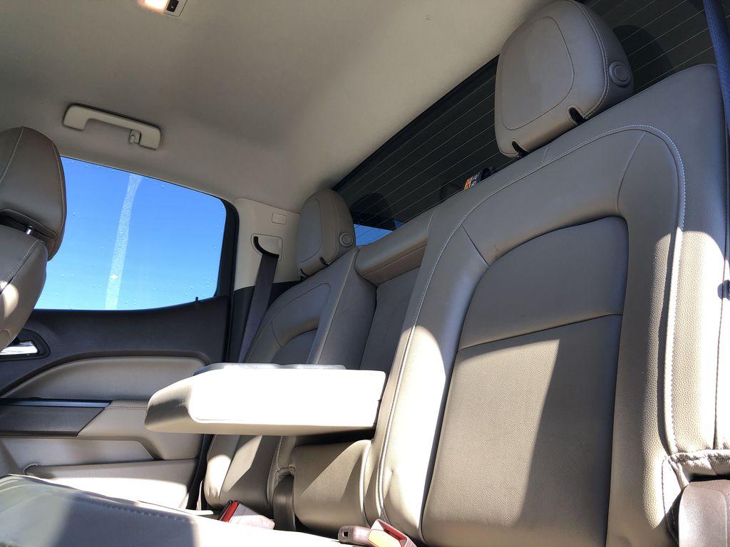 Bronze Dune Metallic 2015 GMC Canyon Left Side Rear Seat  Photo in Edmonton AB
