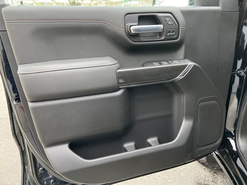 Black[Onyx Black] 2021 GMC Sierra 1500 AT4 Left Front Interior Door Panel Photo in Calgary AB