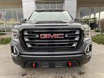 Black[Onyx Black] 2021 GMC Sierra 1500 AT4 Front Vehicle Photo in Calgary AB