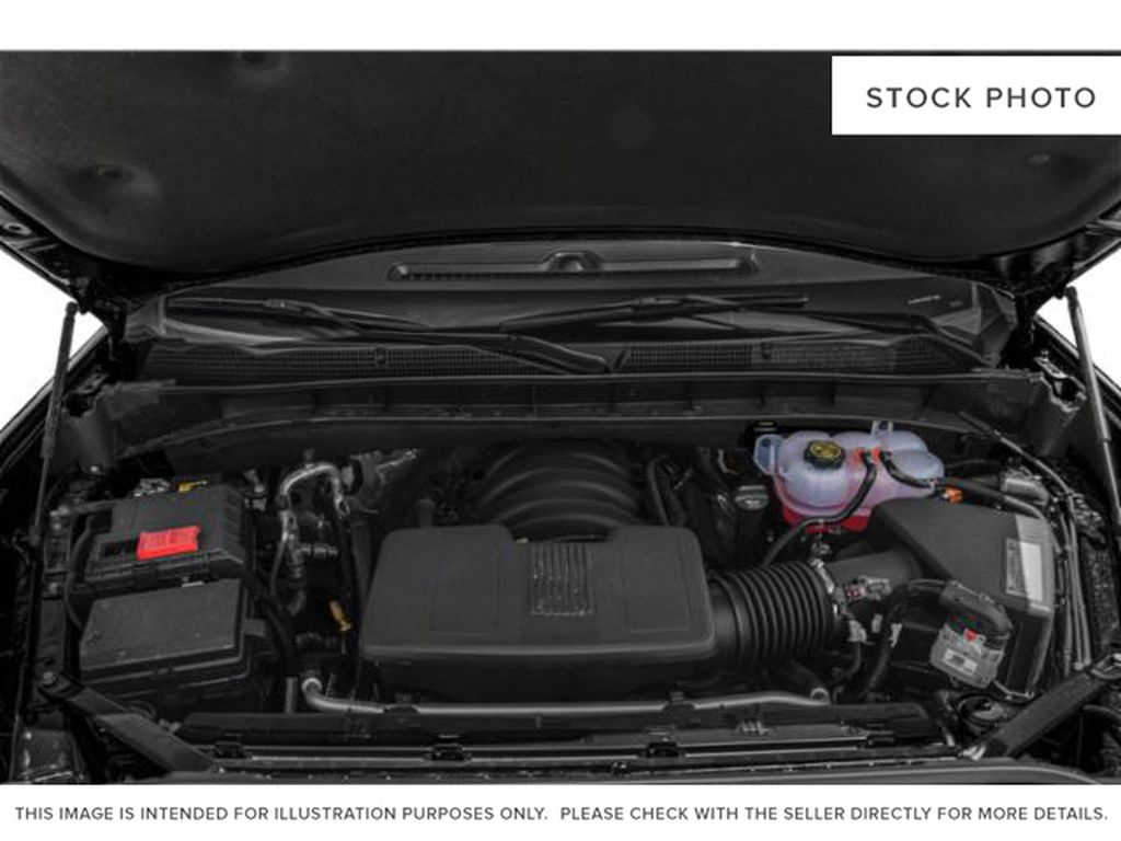 White[White Frost Tricoat] 2021 GMC Sierra 1500 Denali Engine Compartment Photo in Calgary AB