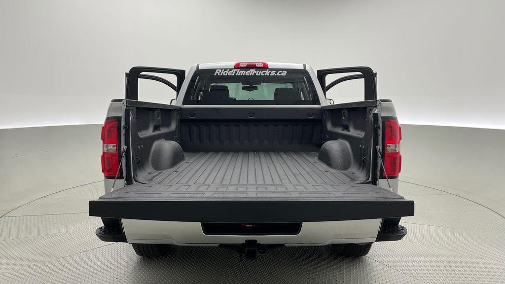 Silver[Quicksilver Metallic] 2014 GMC Sierra 1500 SLE 4WD - Double Cab, V6, Black Alloys Box / Cargo Area Photo in Winnipeg MB