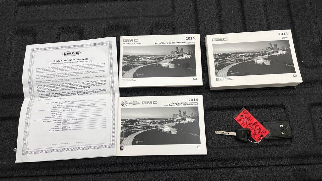 Silver[Quicksilver Metallic] 2014 GMC Sierra 1500 SLE 4WD - Double Cab, V6, Black Alloys Mobile Accessories in Winnipeg MB