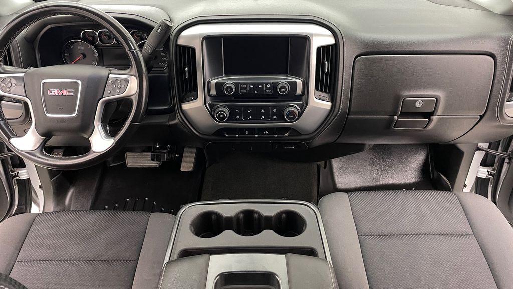 Silver[Quicksilver Metallic] 2014 GMC Sierra 1500 SLE 4WD - Double Cab, V6, Black Alloys Central Dash Options Photo in Winnipeg MB
