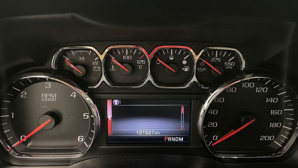 Silver[Quicksilver Metallic] 2014 GMC Sierra 1500 SLE 4WD - Double Cab, V6, Black Alloys Odometer Photo in Winnipeg MB