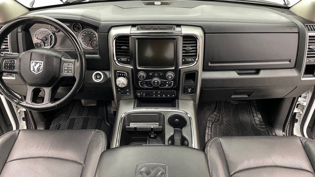 White[Bright White] 2015 Ram 1500 Sport 4WD - Lifted, NAV, Leather, Sunroof Central Dash Options Photo in Winnipeg MB