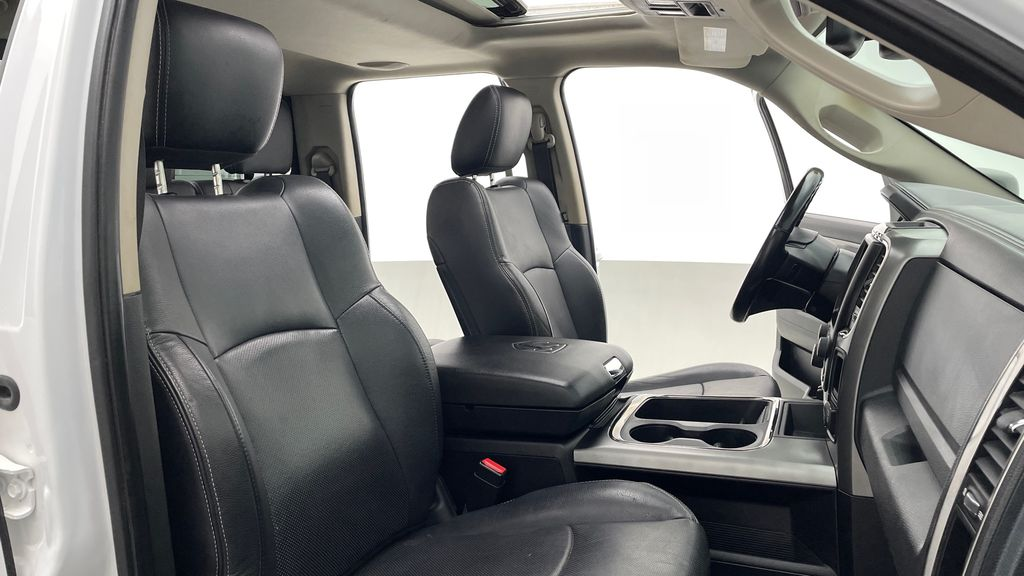 White[Bright White] 2015 Ram 1500 Sport 4WD - Lifted, NAV, Leather, Sunroof Right Side Front Seat  Photo in Winnipeg MB
