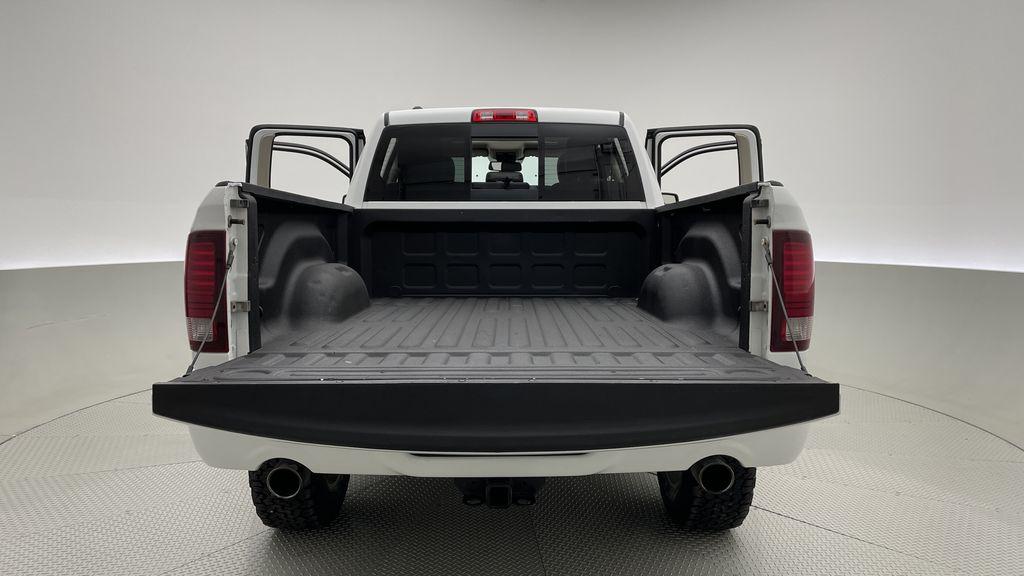 White[Bright White] 2015 Ram 1500 Sport 4WD - Lifted, NAV, Leather, Sunroof Box / Cargo Area Photo in Winnipeg MB