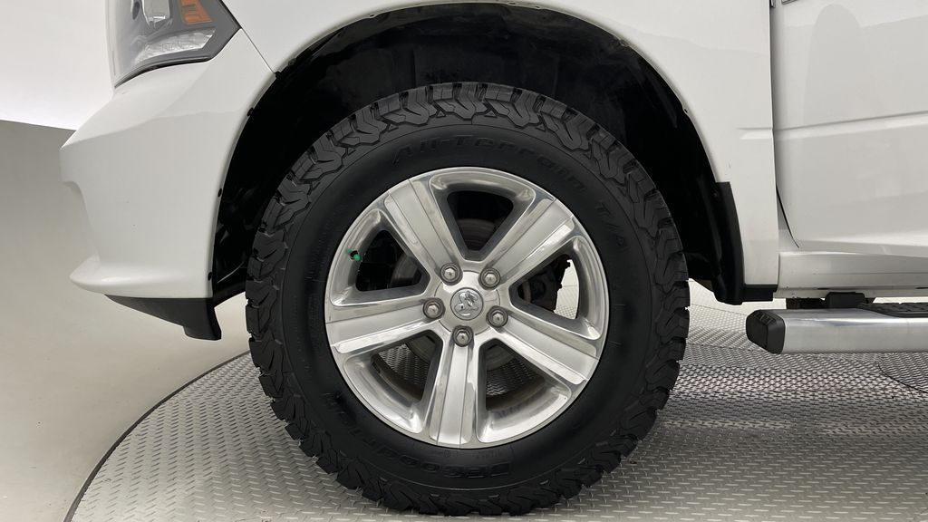 White[Bright White] 2015 Ram 1500 Sport 4WD - Lifted, NAV, Leather, Sunroof Left Front Rim and Tire Photo in Winnipeg MB
