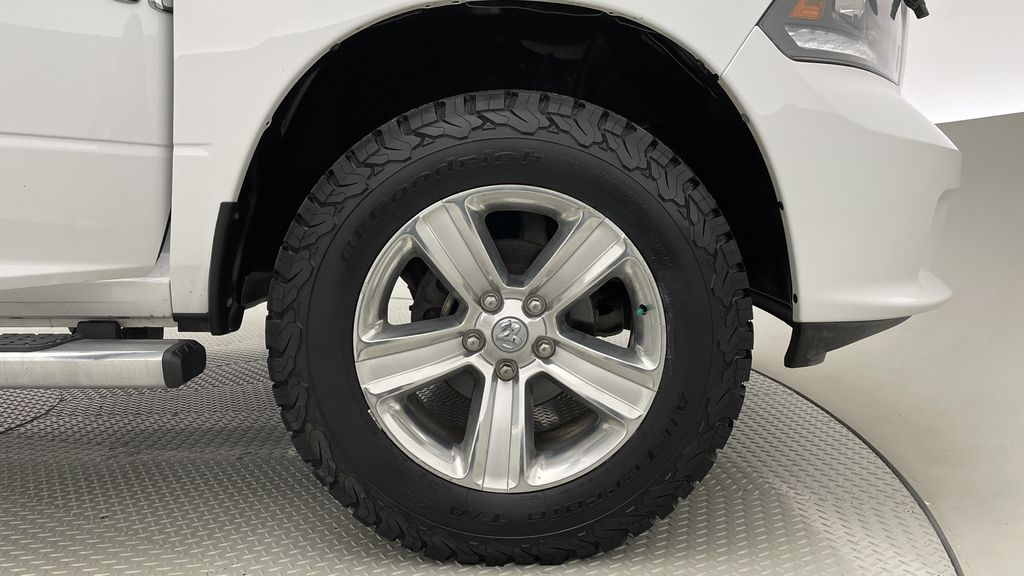 White[Bright White] 2015 Ram 1500 Sport 4WD - Lifted, NAV, Leather, Sunroof Right Front Rim and Tire Photo in Winnipeg MB