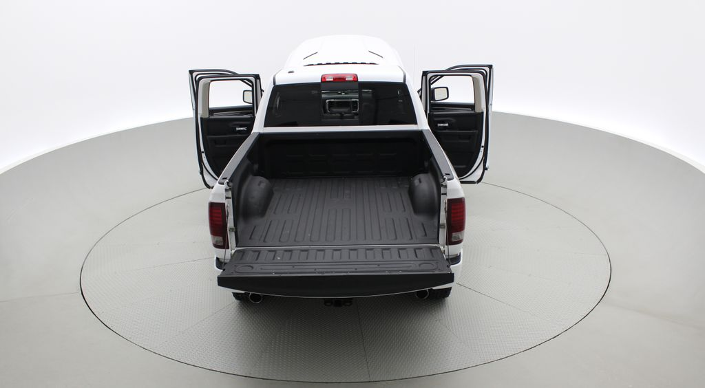 White[Bright White] 2015 Ram 1500 Sport 4WD - Lifted, NAV, Leather, Sunroof Rear of Vehicle Photo in Winnipeg MB