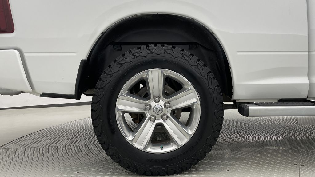 White[Bright White] 2015 Ram 1500 Sport 4WD - Lifted, NAV, Leather, Sunroof Right Rear Rim and Tire Photo in Winnipeg MB