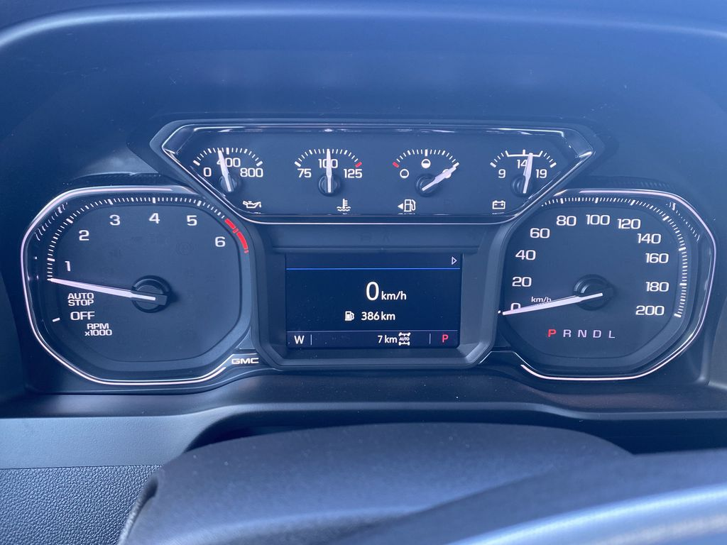Red[Cayenne Red Tintcoat] 2021 GMC Sierra 1500 Odometer Photo in Edmonton AB