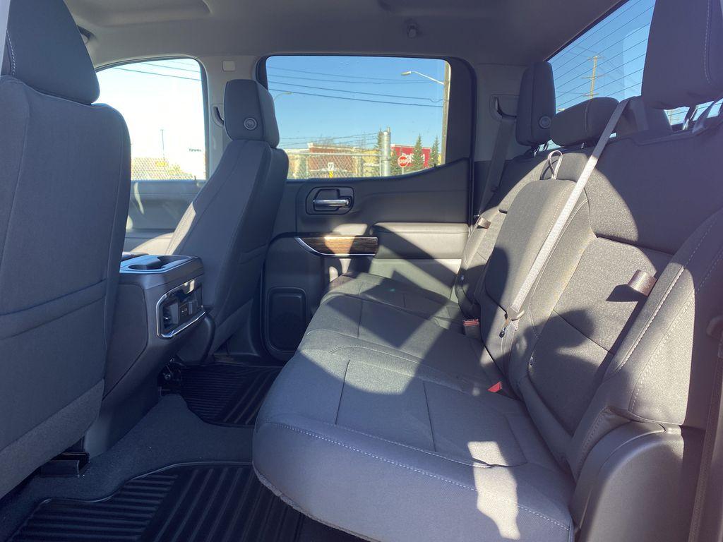 Red[Cayenne Red Tintcoat] 2021 GMC Sierra 1500 Left Side Rear Seat  Photo in Edmonton AB