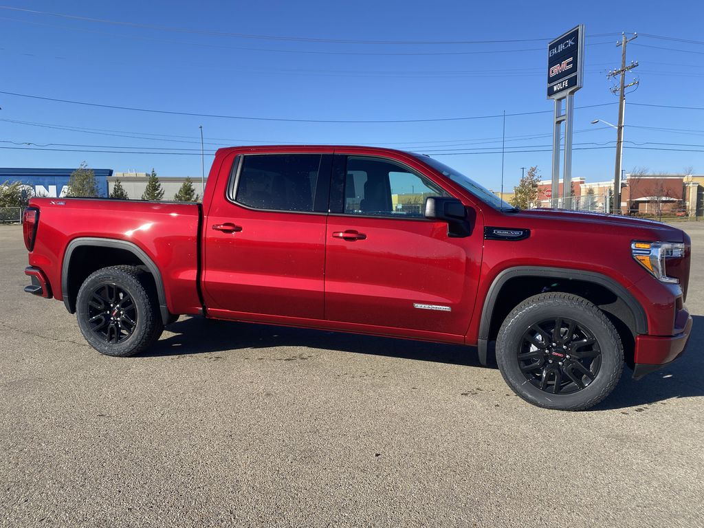 Red[Cayenne Red Tintcoat] 2021 GMC Sierra 1500 Right Side Photo in Edmonton AB