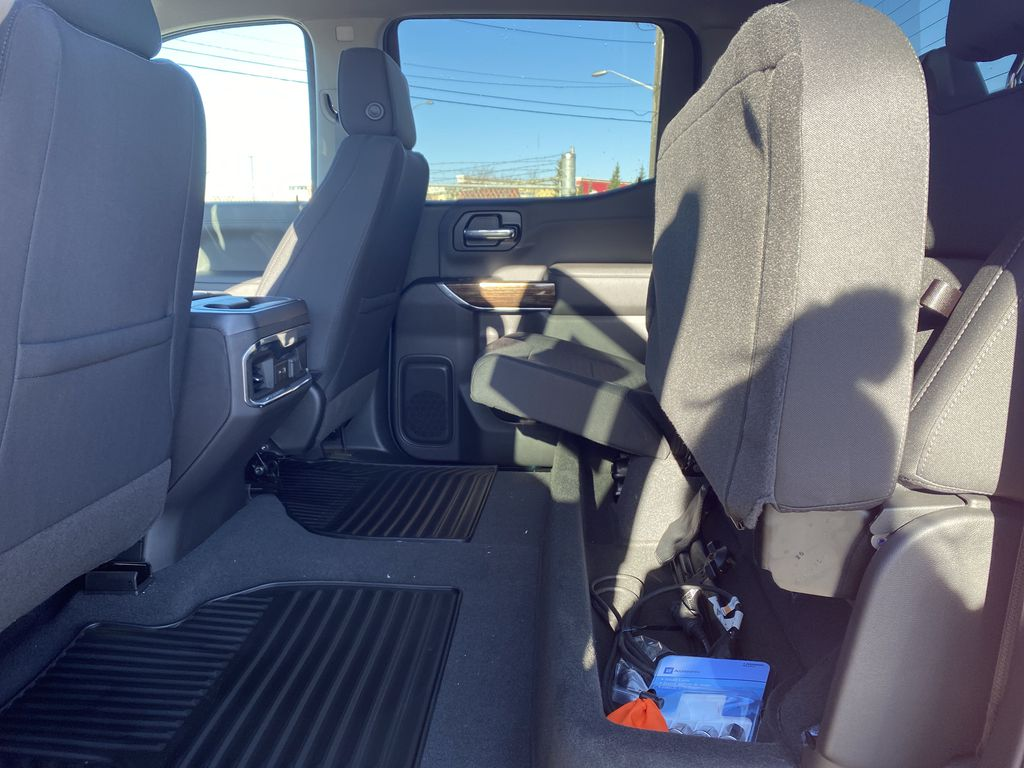 Red[Cayenne Red Tintcoat] 2021 GMC Sierra 1500 Rear Seat: Cargo/Storage Photo in Edmonton AB