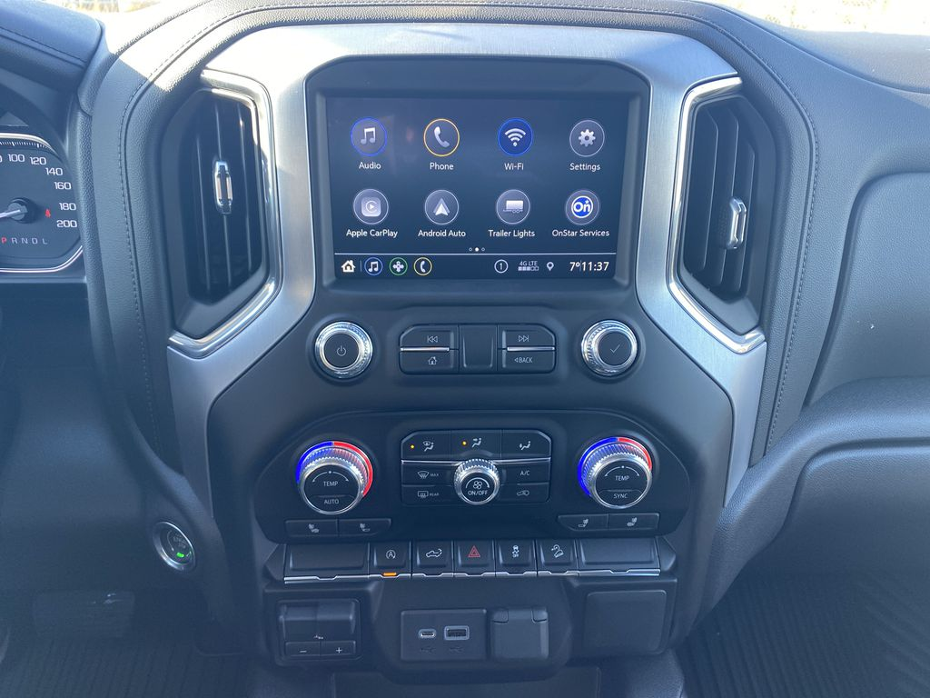 Red[Cayenne Red Tintcoat] 2021 GMC Sierra 1500 Central Dash Options Photo in Edmonton AB