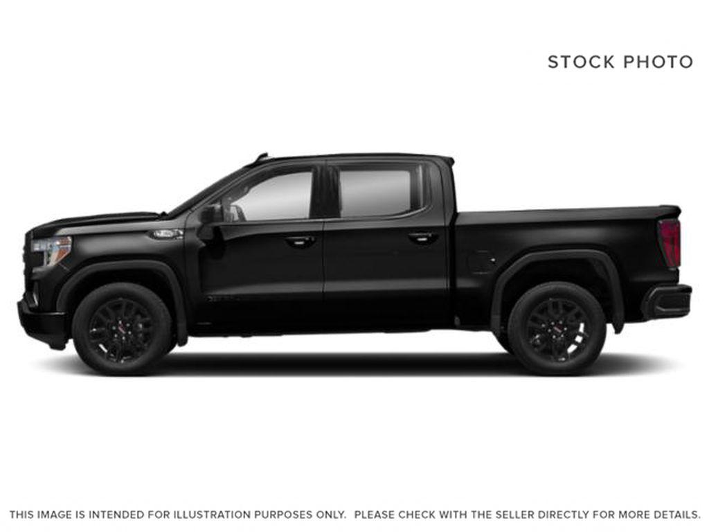 Black[Onyx Black] 2021 GMC Sierra 1500 Left Side Photo in Edmonton AB
