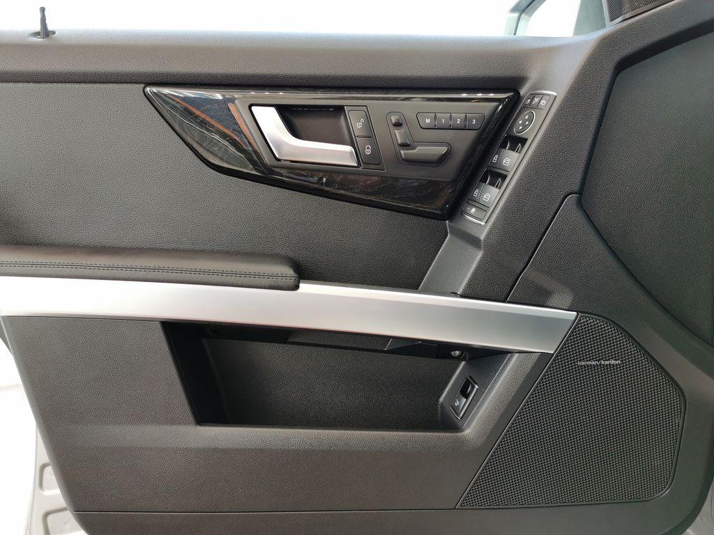 Silver[Palladium Silver Metallic] 2012 Mercedes-Benz GLK-Class Left Front Interior Door Panel Photo in Edmonton AB