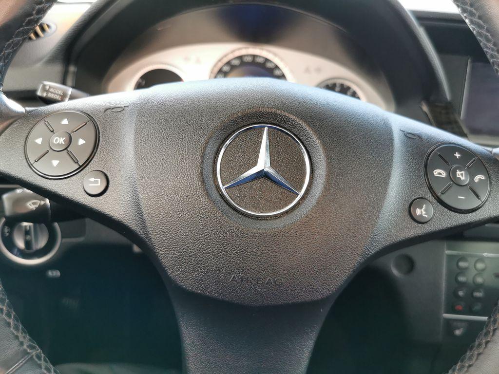 Silver[Palladium Silver Metallic] 2012 Mercedes-Benz GLK-Class Steering Wheel and Dash Photo in Edmonton AB