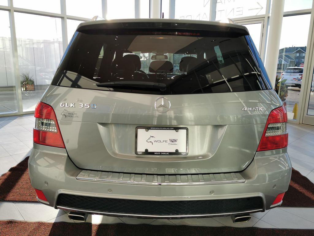 Silver[Palladium Silver Metallic] 2012 Mercedes-Benz GLK-Class Rear of Vehicle Photo in Edmonton AB