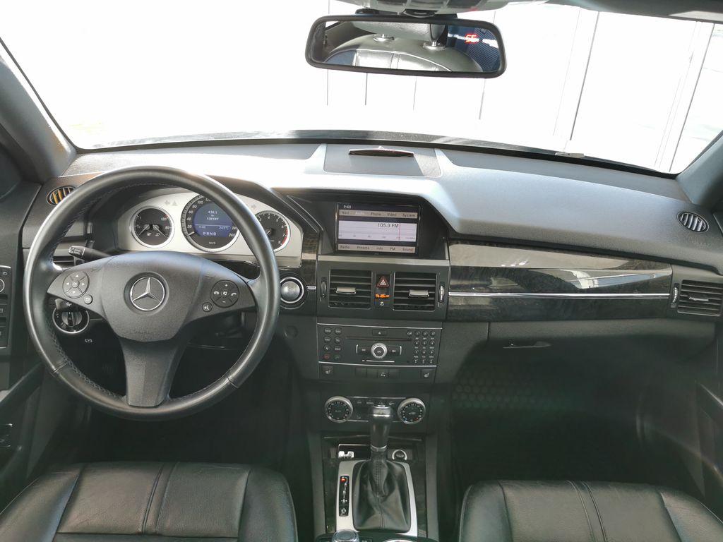 Silver[Palladium Silver Metallic] 2012 Mercedes-Benz GLK-Class Strng Wheel: Frm Rear in Edmonton AB